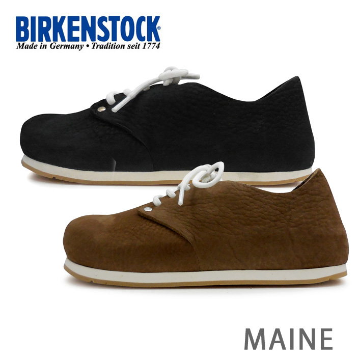 BIRKENSTOCK ビルケンシュトック Maine NU メイン シューズ スニーカー 2色 672313 672323 細幅 あす楽