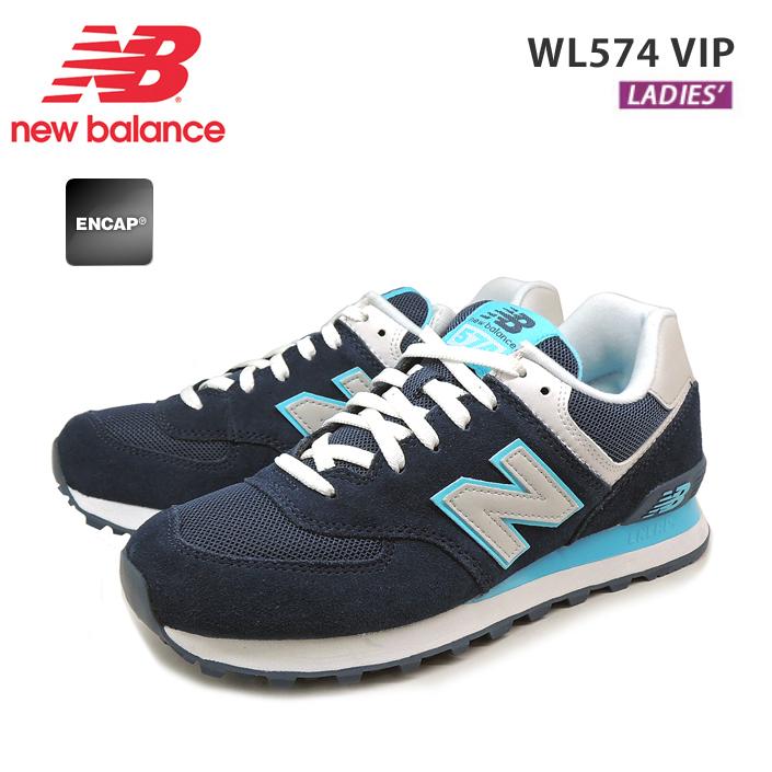 new balance wl574 vip bleue