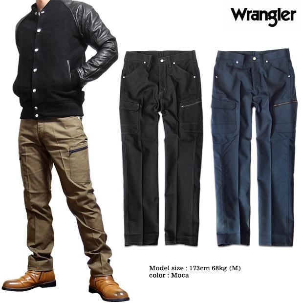 cf990d4c EVERSOUL PLUS: Wrangler Wrangler cargo pant bottoms men underwear pocket  stretch workwear work pants black black ノータックオックス | Rakuten Global Market