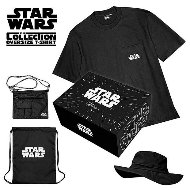 STARWARS スターウォーズ 限定 ボックスセット BOX Tシャツ サファリハット サコッシュ ナップサック