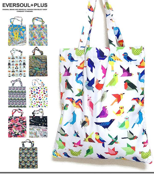 Showy Whole Pattern Pretty Harajuku System Full Color Print A3 B4 Having Good Tote Bag Eco Canvas Size Grain Men Gap Dis Cloth