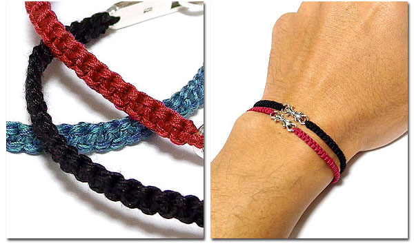 Silver Lily Breath Black Red Blue アクセ Which Includes Prevention Of Bracelet Men Accessories Static Electricity Removal