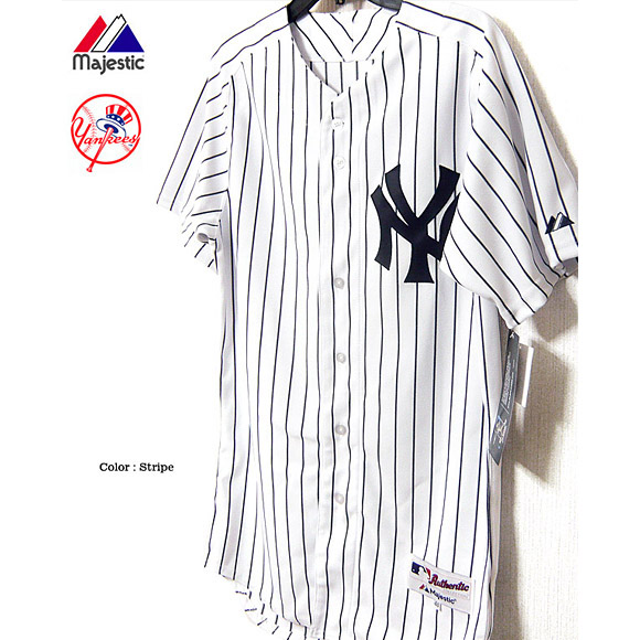 New York Yankees uniform jersey Masahiro Tanaka Major League Majestic Japan  マジェスティック NEW YORK YANKEES authentic home jersey immediate delivery 4cc4bc30b27