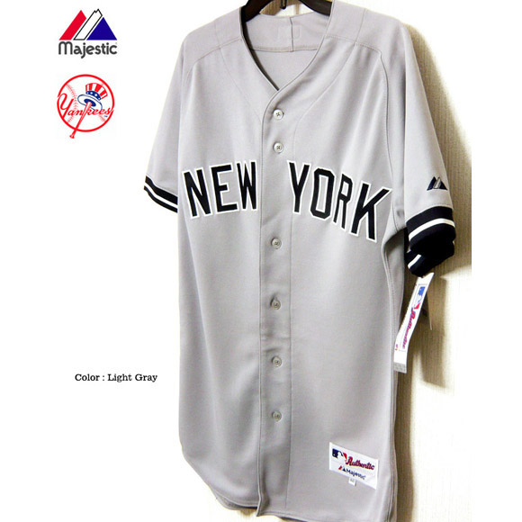 New York Yankees uniform jersey Masahiro Tanaka Major League Majestic Japan  マジェスティック NEW YORK YANKEES authentic away jersey immediate delivery 1406cb640ab