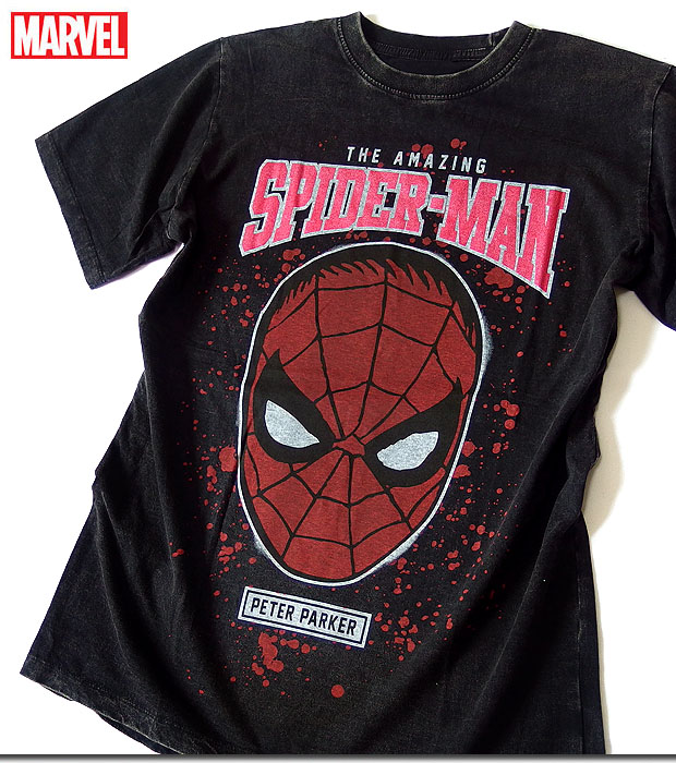 20c9fa526 ... Ma Bell T-shirt short sleeves Spider-Man print character MARVEL candy  Komi t ...