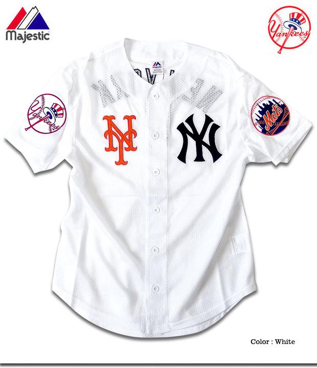 outlet store c08d1 075a3 Baseball shirt baseball men New York Yankees Mets uniform mesh shirt HIPHOP  street fashion sports are casual