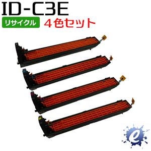 【4色セット】【リサイクルドラム】 ID-C3EK ID-C3EC ID-C3EM ID-C3EY (IDC3E) イメージドラム (即納再生品)