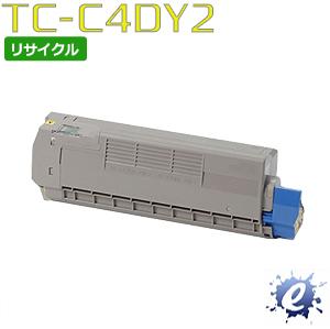 【期間限定】【リサイクルトナー】 TC-C4DY2 イエロー (TC-C4DY1の大容量) トナーカートリッジ(即納再生品) 【沖縄・離島 お届け不可】