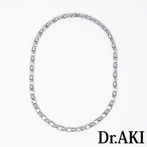 Dr.AKI ゲルマニウム ネックレス SilverNS001VS(シルバー)