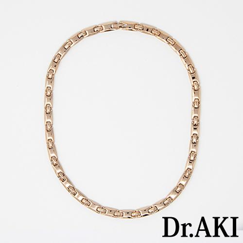 Dr.AKI ゲルマニウム ネックレス GoldNS002VP(ゴールド)