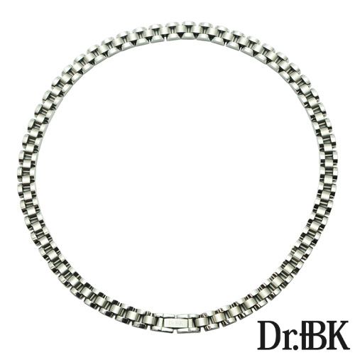 Dr.+BK ゲルマニウムネックレス NS002シリーズ(シルバー)