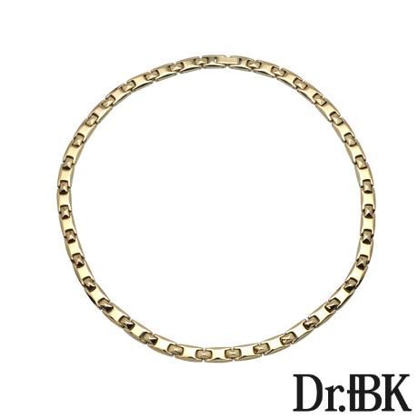 Dr.+BK ゲルマニウムネックレス NS003TP2(ピンクゴールド)