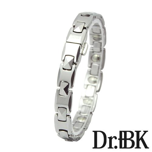 ゲルマニウムタングステン時計型ブレスレット[Bracelet](シルバー)