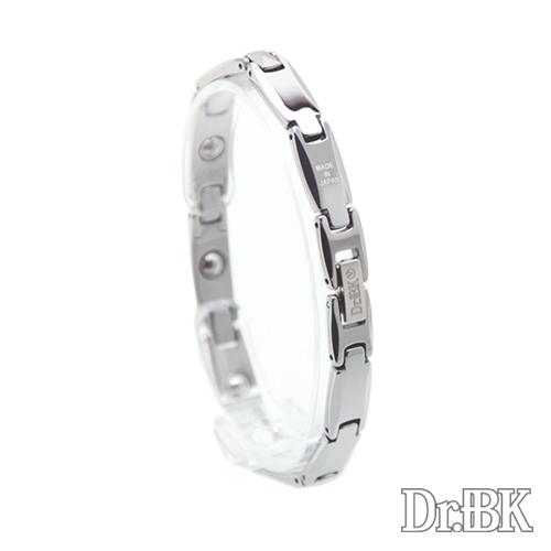 Dr.+BK ゲルマニウムブレスレット BT007VS シルバー [Bracelet]