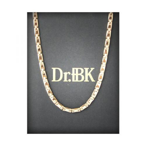 Dr.+BK ゲルマニウムネックレス NS006VP(ピンクゴールド)(S63114M115L116)