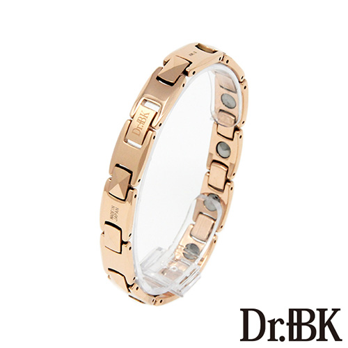 Dr.+BK ゲルマニウムブレスレットBT004TP3 ピンクゴールド [Bracelet]