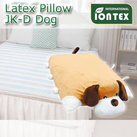 天然ラテックス枕キャラクター枕 Dog 犬‐SY765034