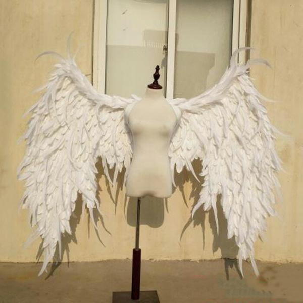 コスプレ道具 天使 羽 140cm ホワイト 翼 天使の翼 天使の羽 エンジェル パーティーグッズ 撮影 cosplay用 コスプレ COSPLAY コスチューム ハロウィン クリスマス用 la126h2h2h2/代引不可