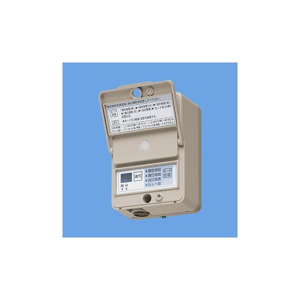 パナソニック EE6315 EEスイッチ 定刻消灯タイマ付 AC100V 15A 看板スイッチ 照度5段階設定可
