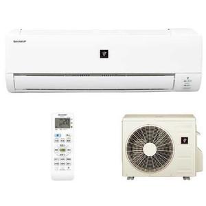 シャープ 冷暖房タイプ14畳用エアコンセット AY-E40DX-W