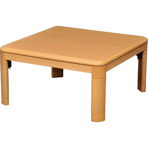 丸栄木工所 80cm×80cm 正方形テーブル ナチュラル【KH-801LN】