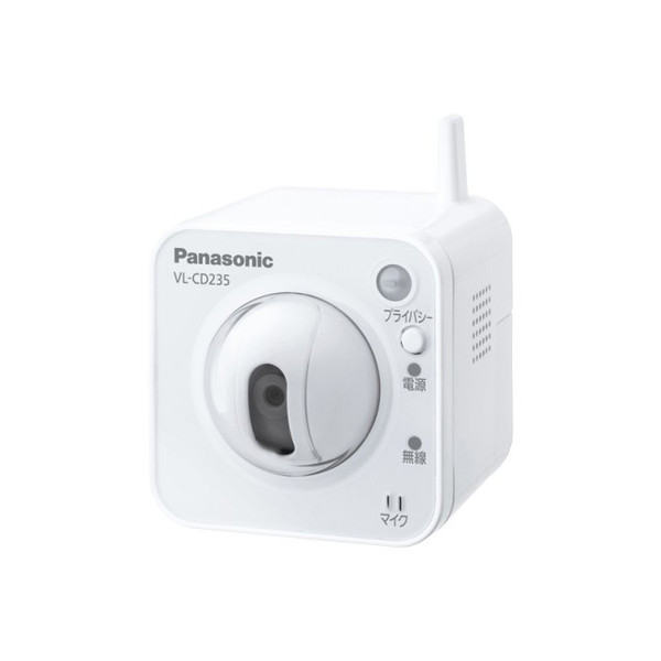 パナソニック センサーカメラ(Wi-Fi兼用屋内タイプ)VL-CD235