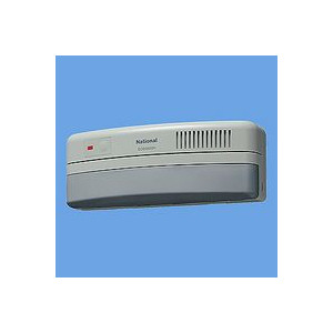 パナソニック 小電力型ワイヤレス熱線センサー送信器(屋側用)(受信器連動警報機能付)(アイボリーグレー) 【ECD3420H】