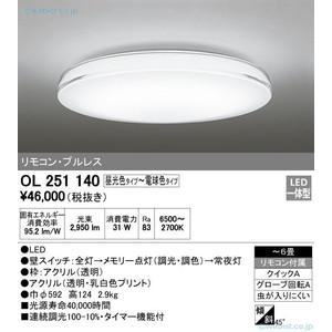 オーデリック OL251140