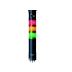 LED表示灯(φ60積層式) 直取付台 組立完了品 XVU型(赤,橙,緑)デジタルシグナリング 【XVU6M3R0GSW】