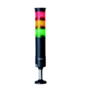 多くの取り付け方法と点灯パターンで様々なニーズに対応 LED表示灯 φ60積層式 円形取付台付 組立完了品 アウトレットセール 特集 XVU型 橙 XVU6M3R0GH 赤 割り引き デジタルシグナリング 緑