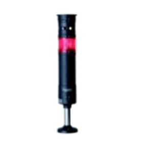 LED表示灯(φ60積層式) 円形取付台付 組立完了品 XVU型(赤)デジタルシグナリング【XVU6M1RSH】