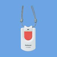 パナソニック 小電力型ワイヤレスペンダント発信器 【ECD2305】