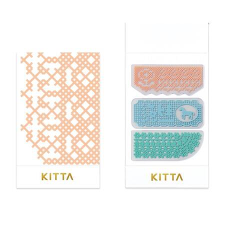 小さく持てるマスキングテープ 7 6 新着 KITTA 誕生日/お祝い 2020春夏新作 CLEAR キッタクリアレース