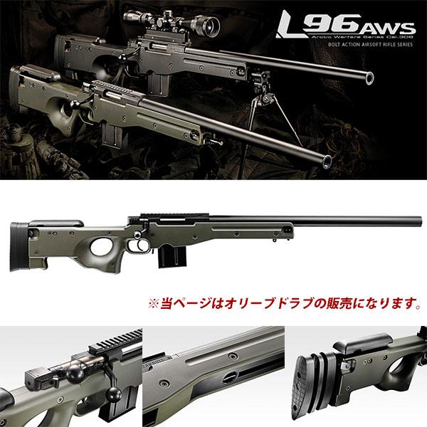 東京マルイ L96 AWS ODストックVer. 4952839135070 L96AWS エアガン エアーガン 18歳以上 0315gn