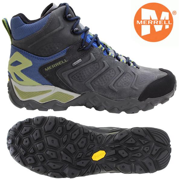 カメレオン SHIFT MID キャッスルロック/タホブルー GORE-TEX ブーツ 7インチ(25.0cm) メレル 靴 メンズ ゴアテックス 0214