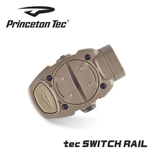 PrincetonTec (プリンストンテック) スイッチレイル タン LED:レッド/ホワイト 20mmレイル対応 ウエポンライト タクティカルライト 光学機器 エアガン エアーガン サバゲー サバイバルゲーム PT-SR-3-TAN RD/WHITE ev-446220 0623pn