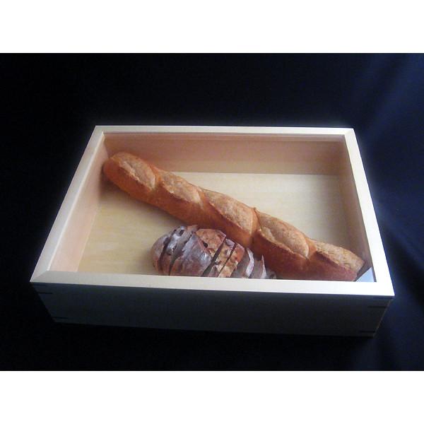 ブレッドストッカー【木製パンの収納箱】