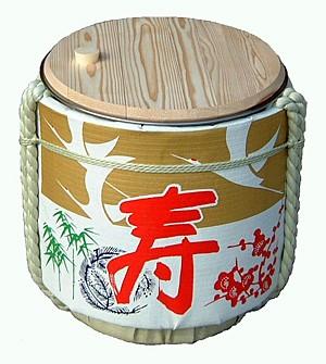 reusable kagamihiraki sake barel 40*40 Ssize