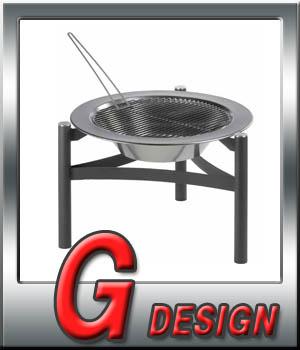 バーベキュー BBQ dancook 【ボンファイアBBQグリル】 ガーデン オープンキッチン ホームパーティー 送料無料