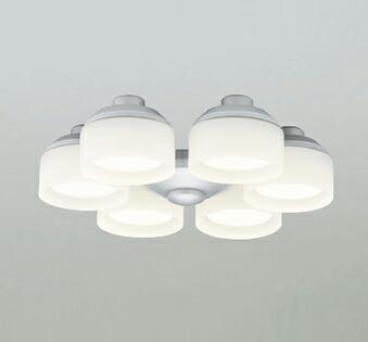 オーデリック ODELIC 【シーリングファン オプション ACモーターファンシリーズWF276LC マットシルバー色灯具[乳白ケシガラス・6灯] 調光・電球色・~8畳】