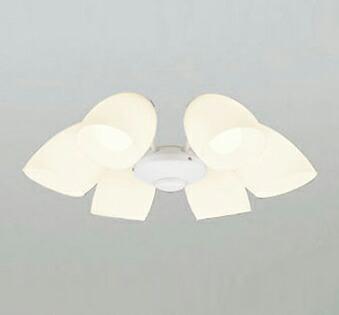 オーデリック ODELIC 【シーリングファン オプション ACモーターファンシリーズWF805LC1 オフホワイト色灯具[乳白ケシガラス・6灯] 調光・電球色・~8畳】