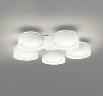 オーデリック ODELIC 【シーリングファン オプション DCモーターファンシリーズWF822LD 白色灯具[乳白ケシガラス・5灯] 電球色・~6畳】