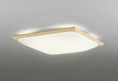 オーデリック ODELIC 【和風 照明 シーリングライトOL291343 白木 電球色~昼光色 リモコン付属 調光調色・~12畳】 角丸フォルムのグローブと直線的な白木枠を合わせたシンプルな意匠
