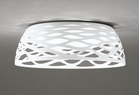 オーデリック ODELIC 【調光調色シーリングライトOL291545R マットホワイト色 高演色LED 電球色~昼光色ツバ付丸形引掛シーリング取付 リモコン付属~12畳】 ペンダントライトが直付けされたような新感覚デザイン