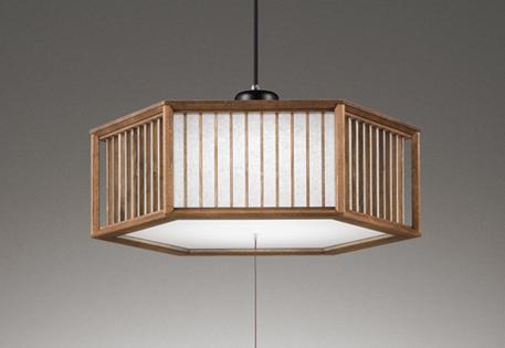 オーデリック ODELIC 【和風 照明 シーリングライトOP252688 桐(オイルステイン) 紐スイッチ付 リモコン付属電球色~昼光色 調光調色・~8畳】 直線的な格子の意匠を取り入れた端正な木枠