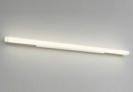 ミラーライトや空間のアクセントに最適 オーデリック ODELIC   ブラケットミラーライト OL251874R 電球色 アルミオフホワイト色  巾1,180  LED一体型 高演色LED リネストラ150W相当