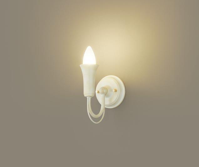 無料プレゼント対象商品!パナソニック Panasonic 【小型ブラケットライトLGB81647 電球色ホワイトさび風仕上 ろうそくデザイン 40形電球1灯器具相当】