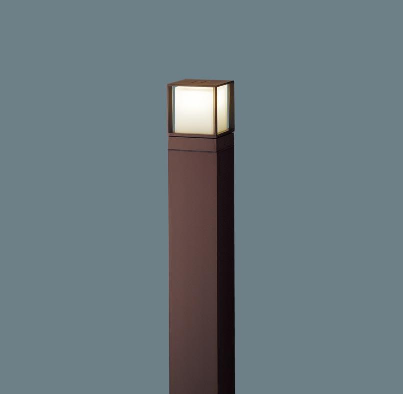 エクステリア 屋外 照明 ライト パナソニック 【 ガーデンライト XLGE540AHZ スクエアタイプ 地上高100cm ダークブラウンメタリック 】 ポーチライト アプローチライト ポールライト