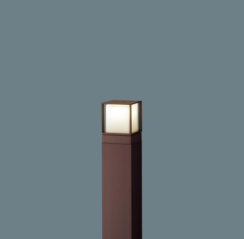 エクステリア 屋外 照明 ライト パナソニック 【 ガーデンライト XLGE540ALZ スクエアタイプ 地上高60cm ダークブラウンメタリック 】 ポーチライト アプローチライト ポールライト