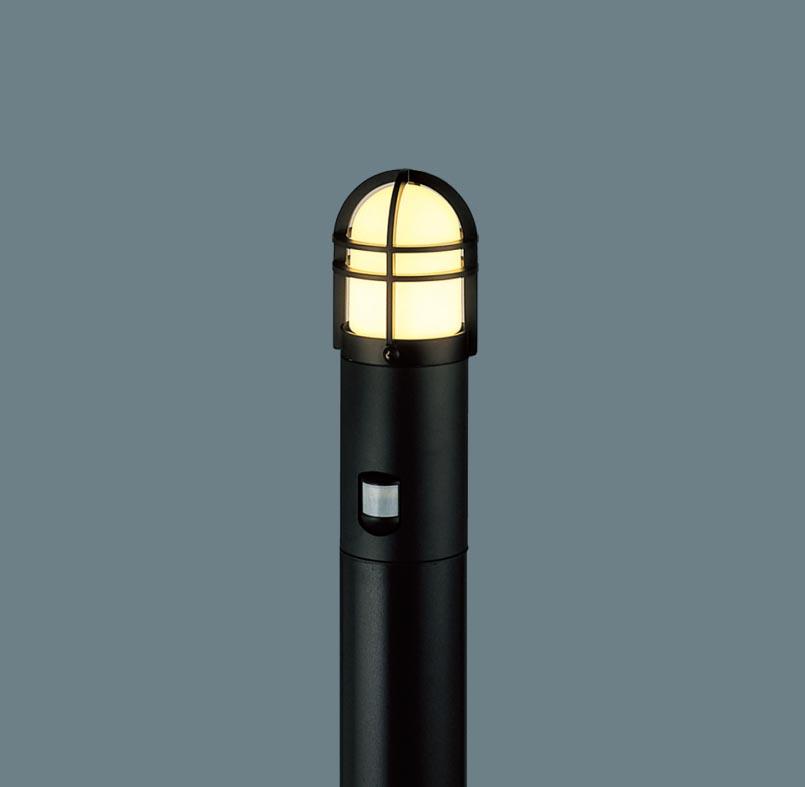エクステリア 屋外 照明 ライト パナソニック 【 ガーデンライト XLGEC552HZ センサーあり 地上高100cm オフブラック 】 ポーチライト アプローチライト ポールライト